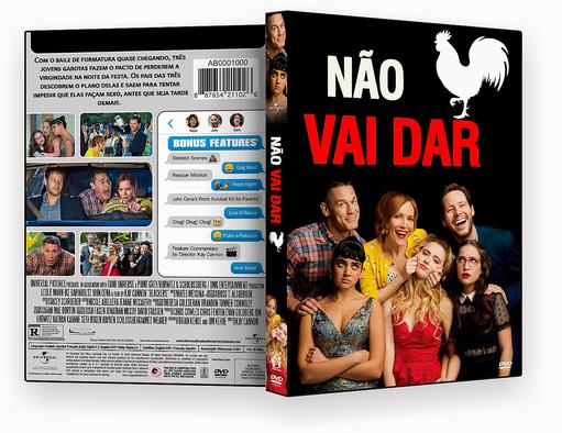 NÃO VAI DAR DVD-R AUTORADO – CAPA DVD