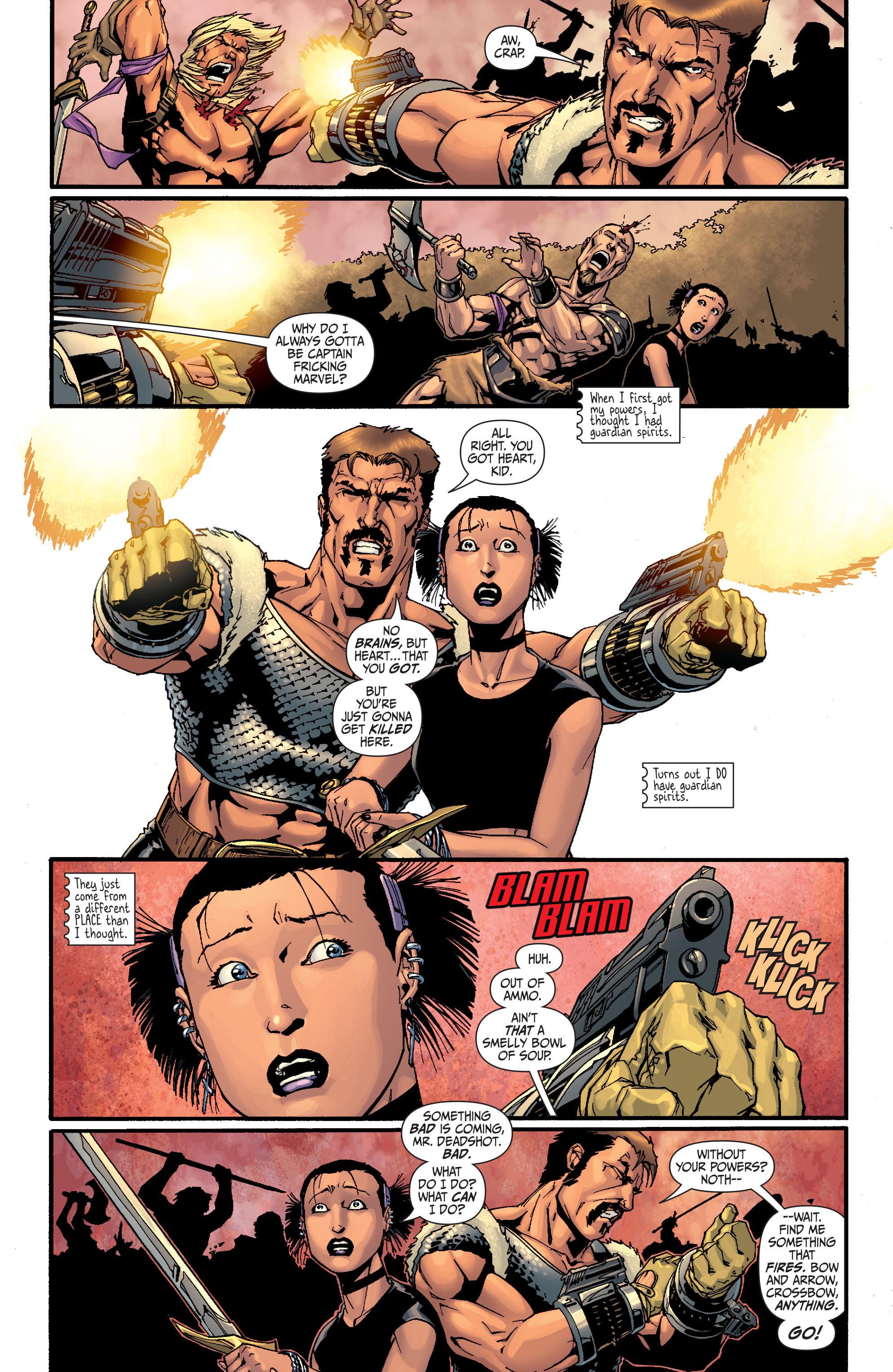Read online Secret Six (2008) comic -  Issue #28 - 4