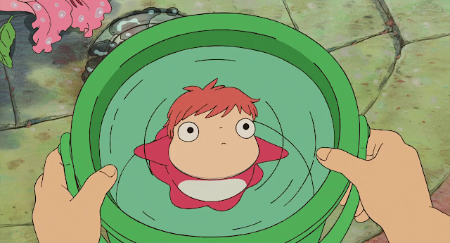 Ponyo on the Cliff (2008) Dual Audio [Hindi-DD5.1] 720p BluRay ESubs Download