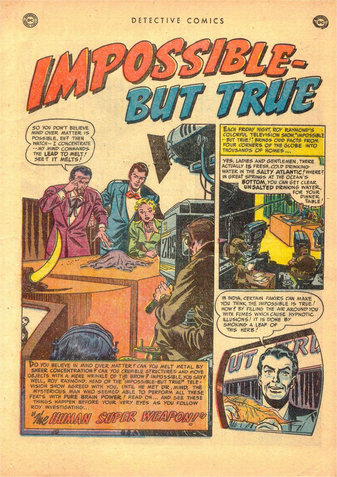 Read online Detective Comics (1937) comic -  Issue #161 - 17