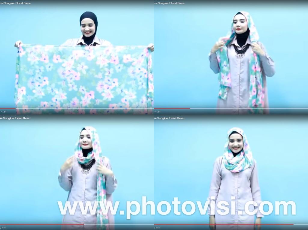 Tutorial Hijab Zaskia Sungkar Tanpa Peniti Tutorial Hijab Paling