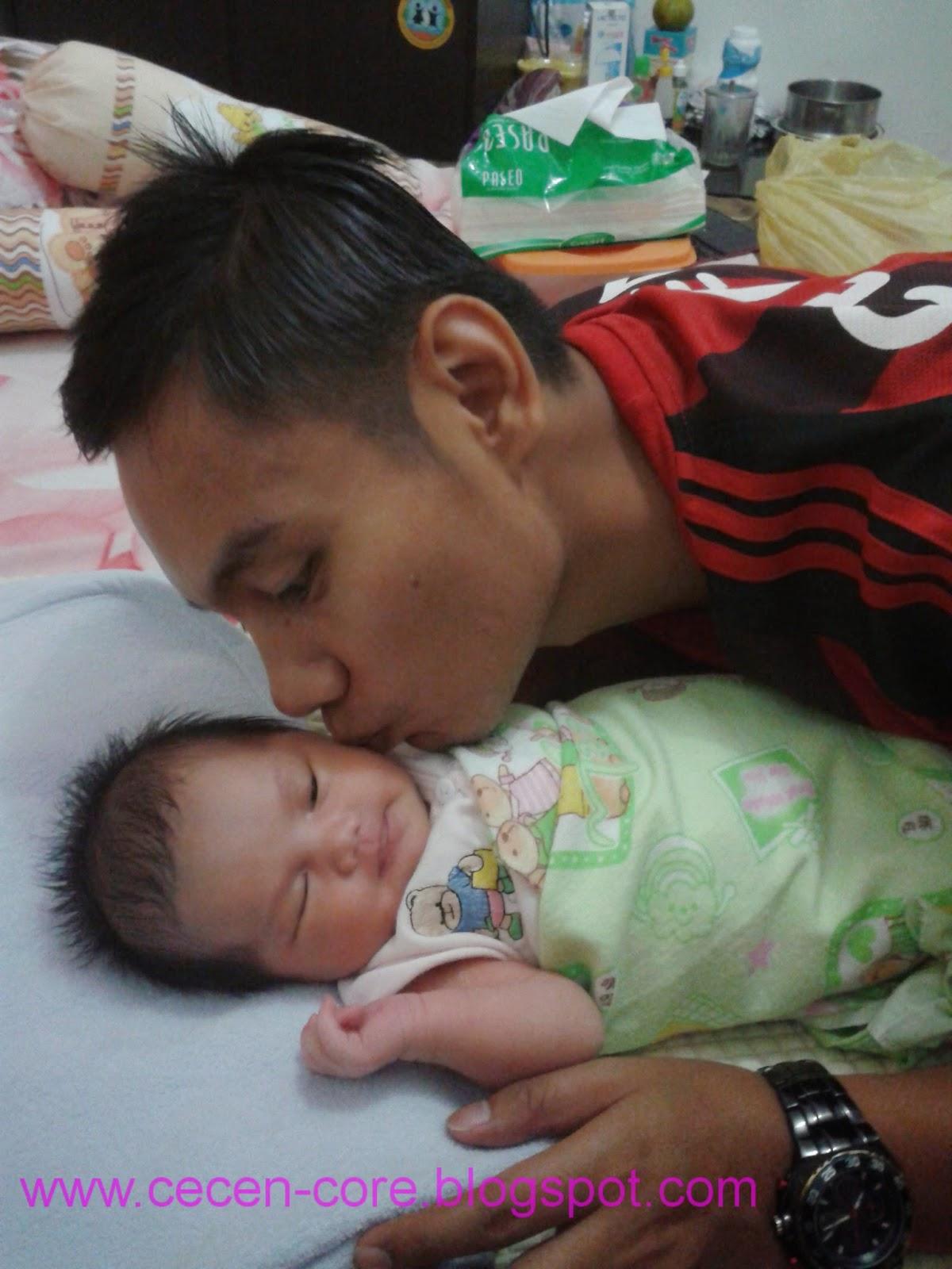 Cecen dan Baby Clarissa Astrid Sofia Friezcen