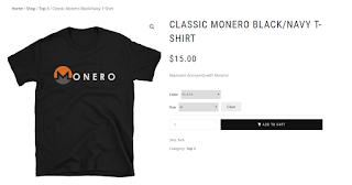 Camiseta Monero XMR 3