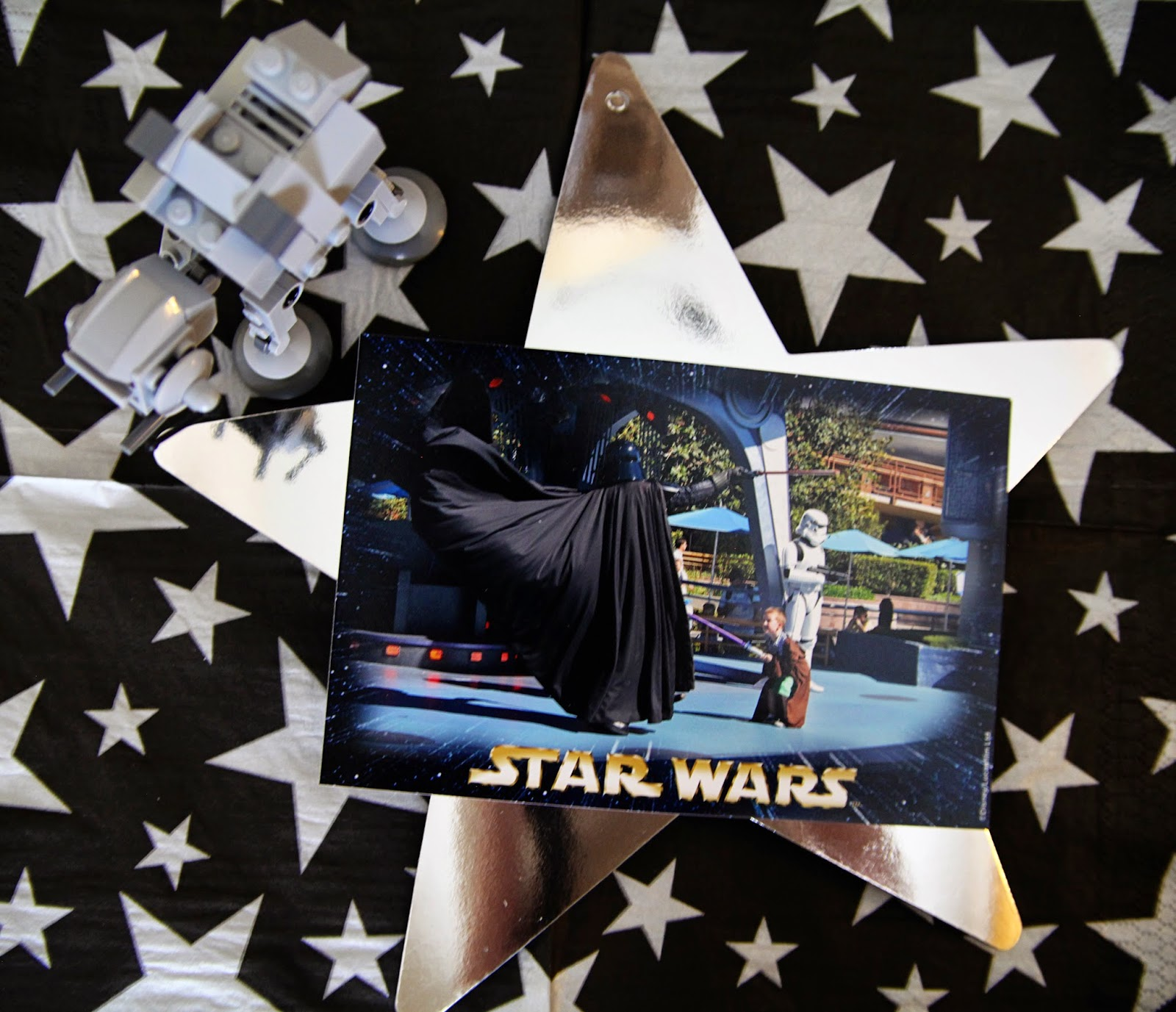 Star Wars Lego Decorations Star Wars Lego Birthday Party