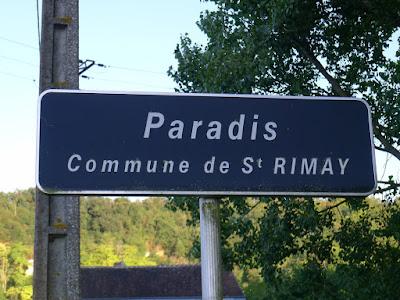 De Paris à la Rochelle en vélo couché, au Paradis