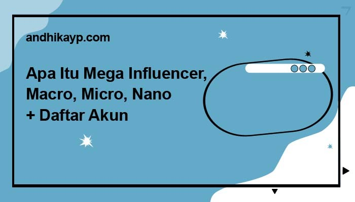 apa itu mega influencer