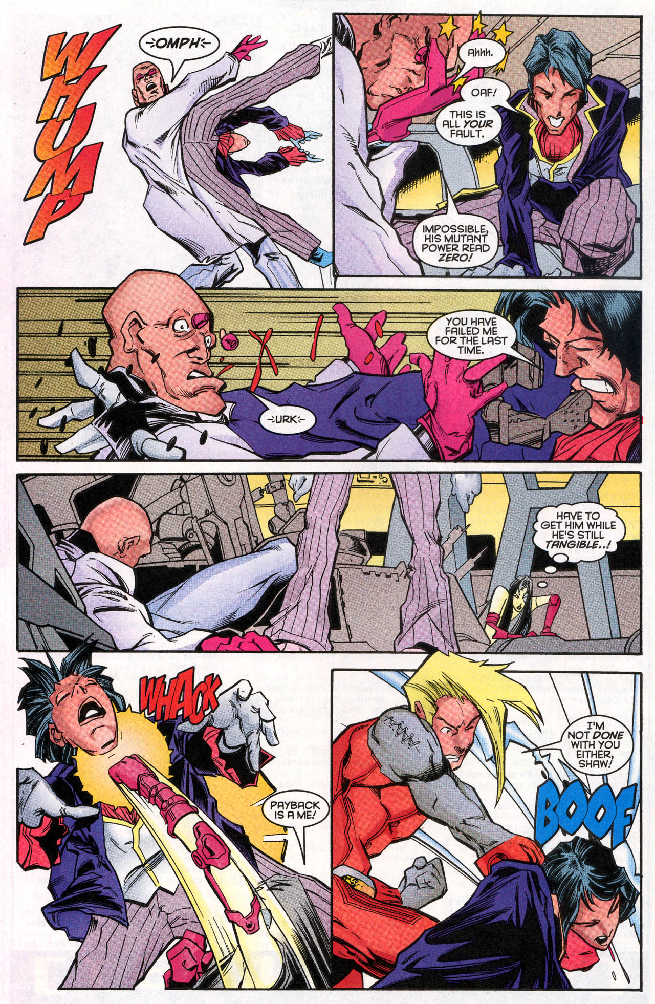Read online X-Force (1991) comic -  Issue #62 - 29