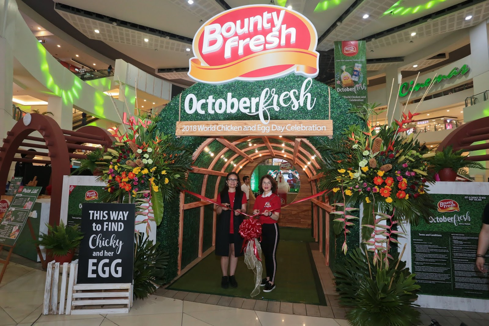 34ccaf2f1d0699 Bounty Fresh celebrates Octoberfresh 2018 World Chicken and Egg Day at  Trinoma