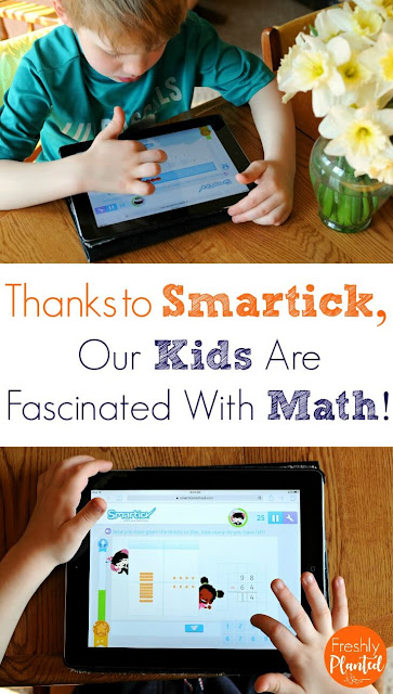 Thanks to Smartick, Our Kids are Fascinated With Math!