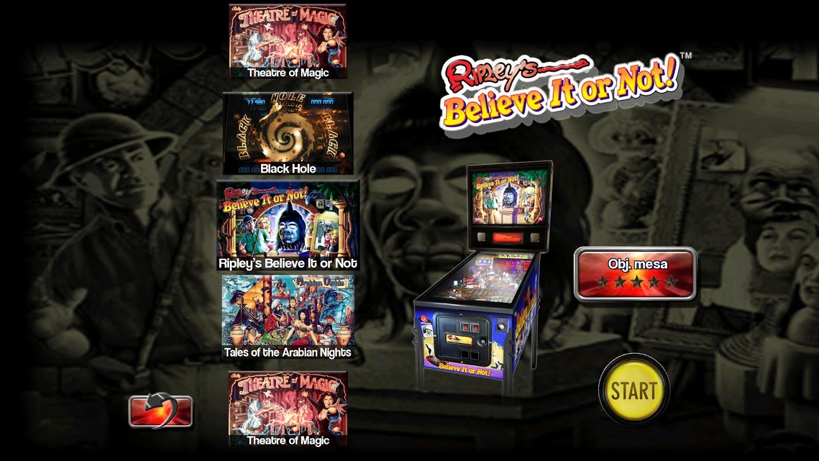 Dame-Linux: Pinball Arcade con 4 Mesas por un CÉNTIMO de