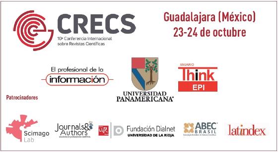 10ª Conferencia Internacional sobre Revistas Científicas (CRECS)