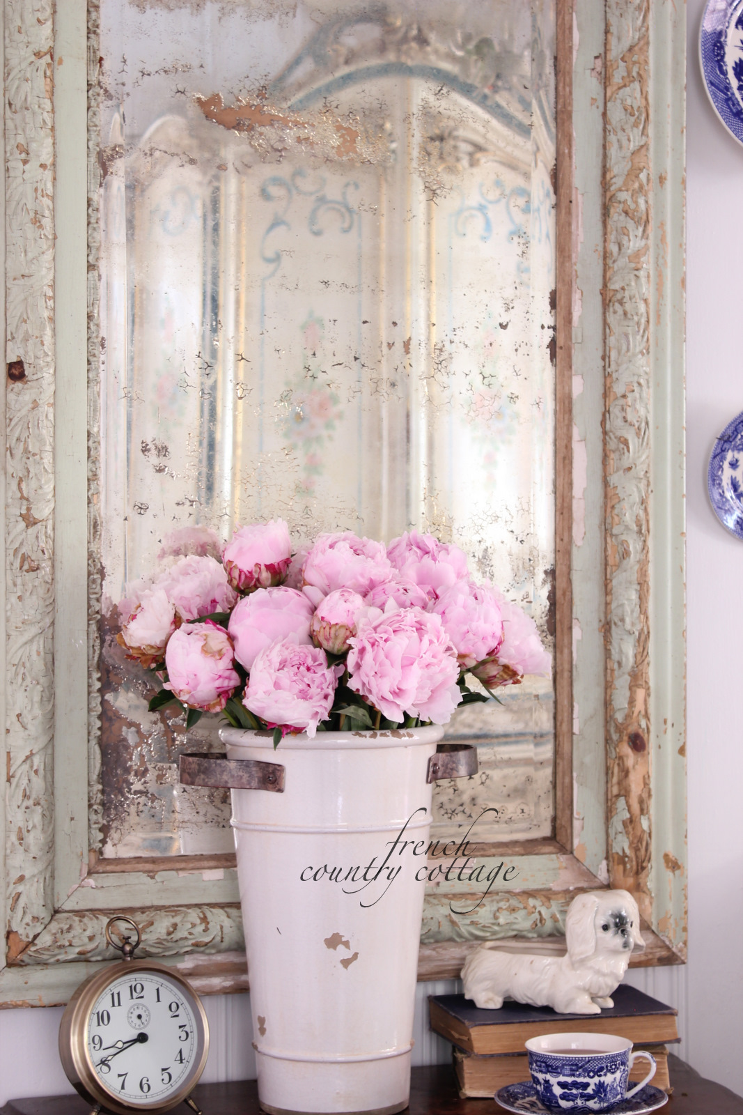 French Country Office Design: A Little French Country