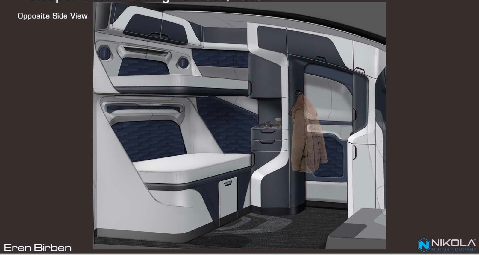 Nikola Previews The Interior Of Its Hydrogen Truck Carscoops