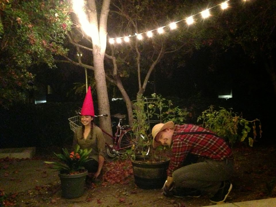 Connie's Blog: A selection of gnome puns that me and a