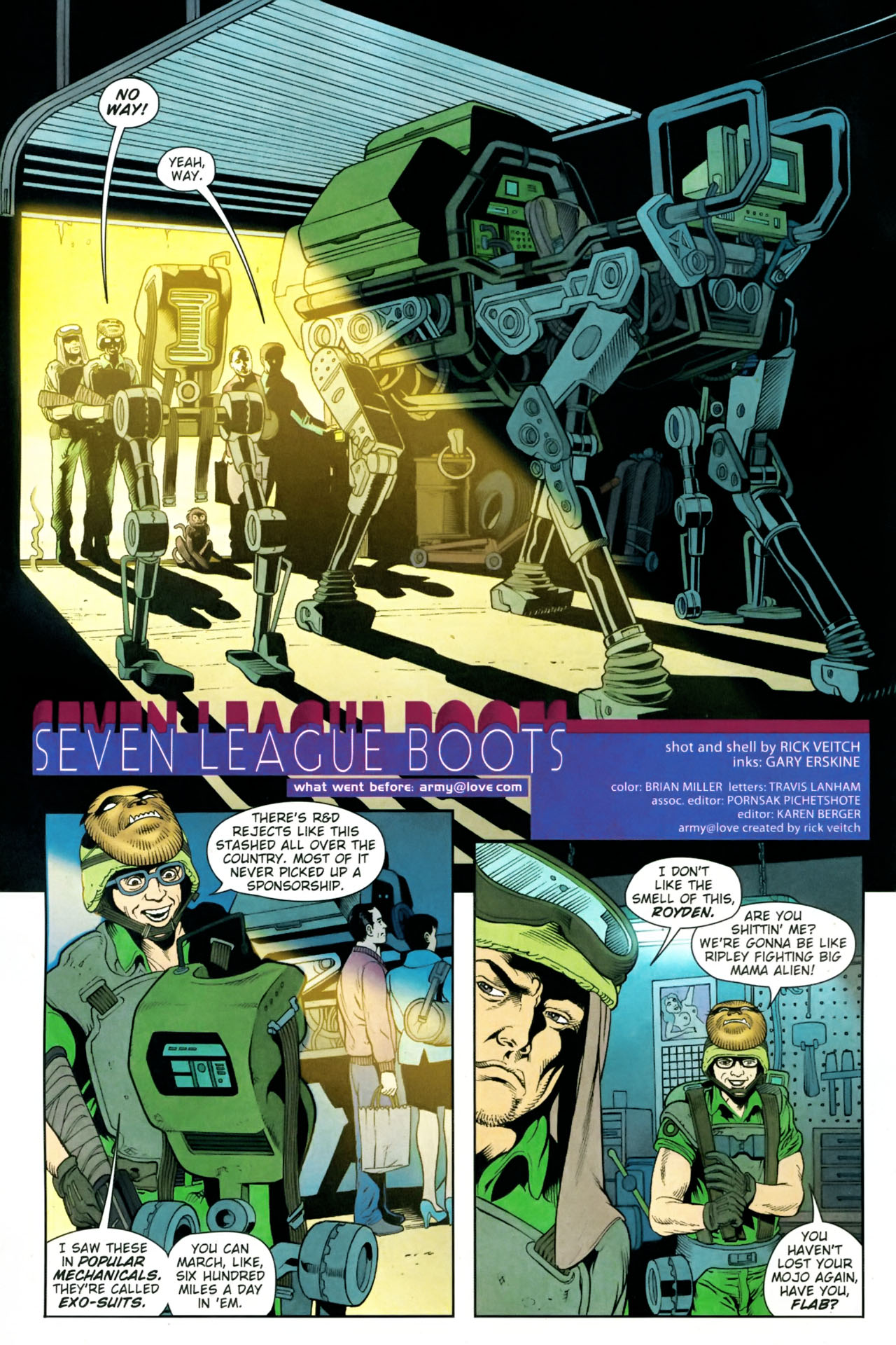 Read online Army @ Love comic -  Issue #10 - 3