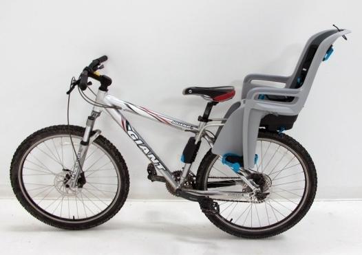 детское велокресло +на подседельный штырь