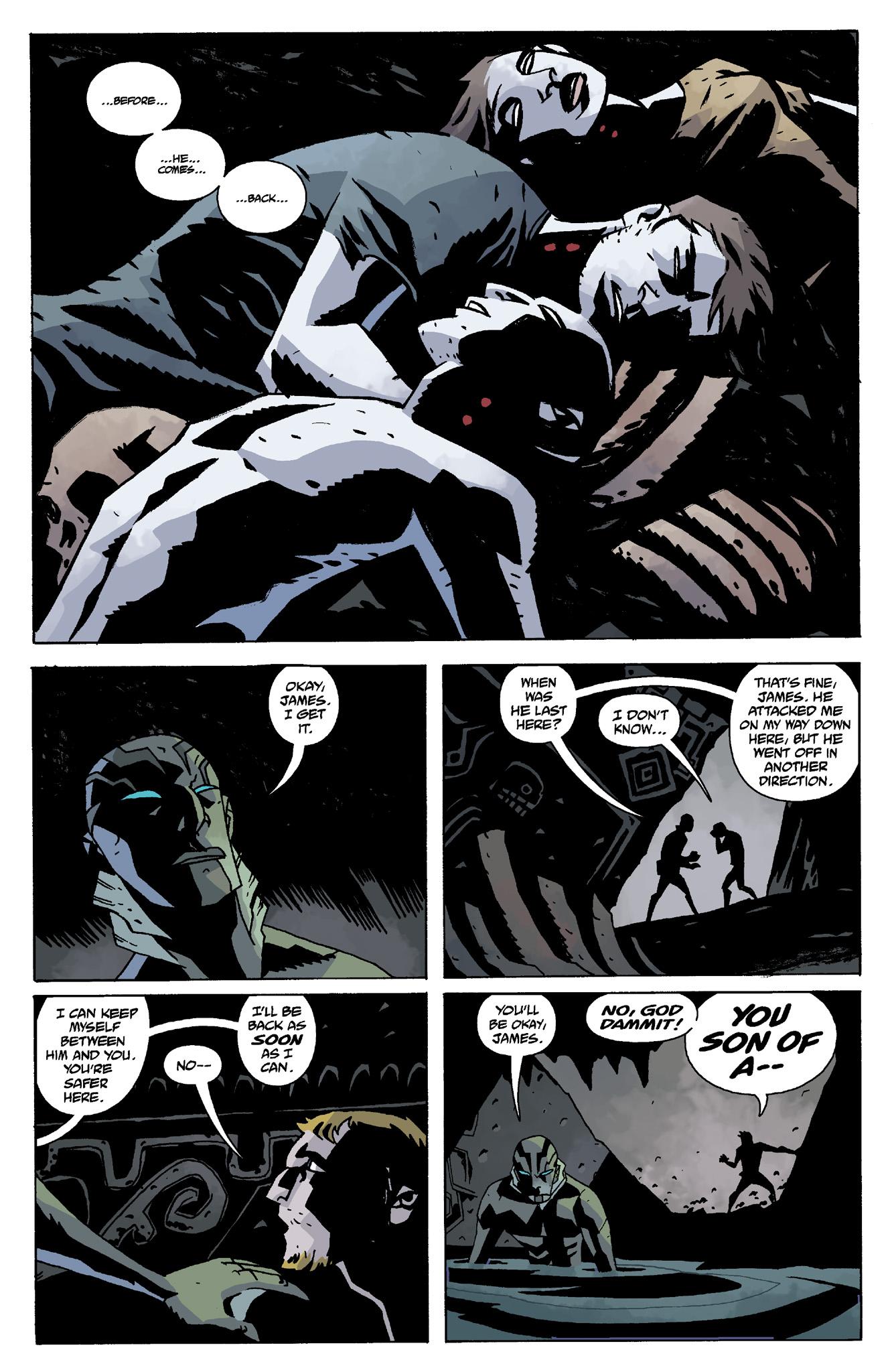 Read online Abe Sapien comic -  Issue #8 - 10
