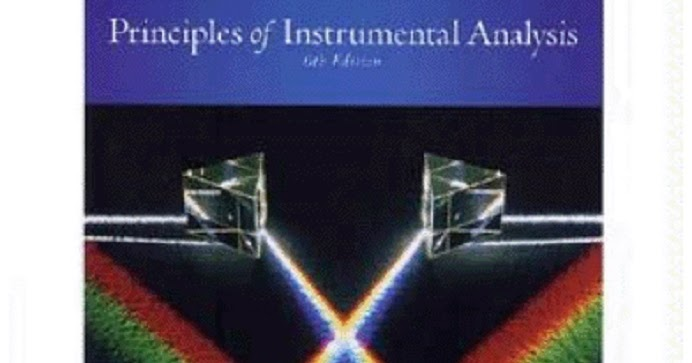 Principles Of Instrumental Analysis Skoog 6th Edition Pdf