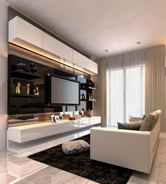 The latest modern TV rack design