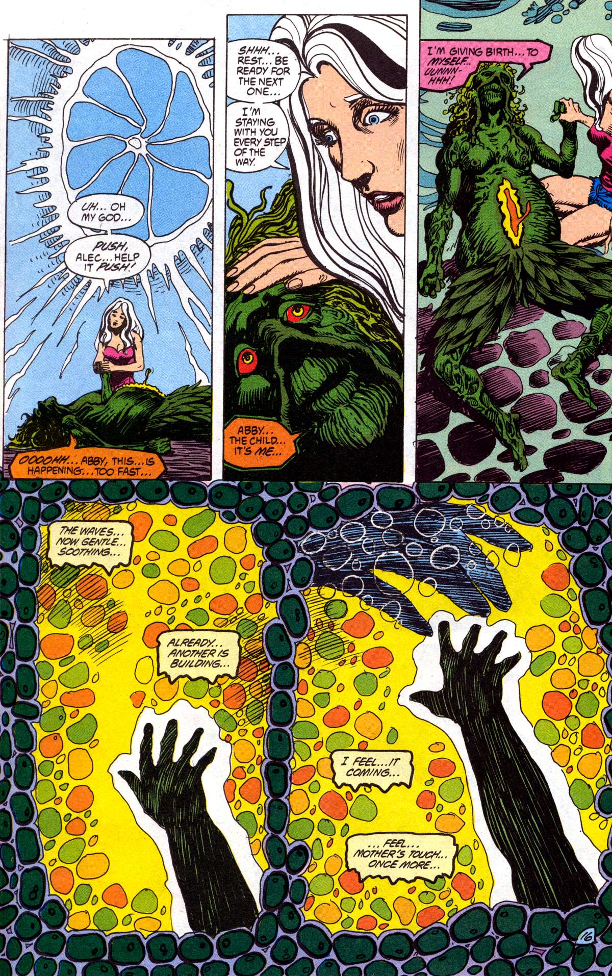 Swamp Thing (1982) Issue #78 #86 - English 17