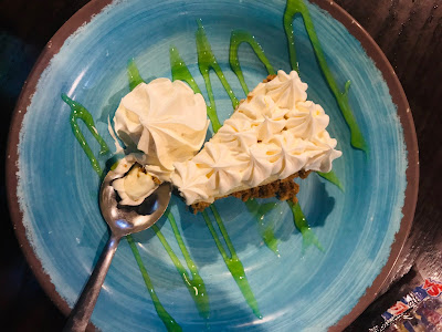 Key Lime Pie Sharky's Beachfront Restaurant