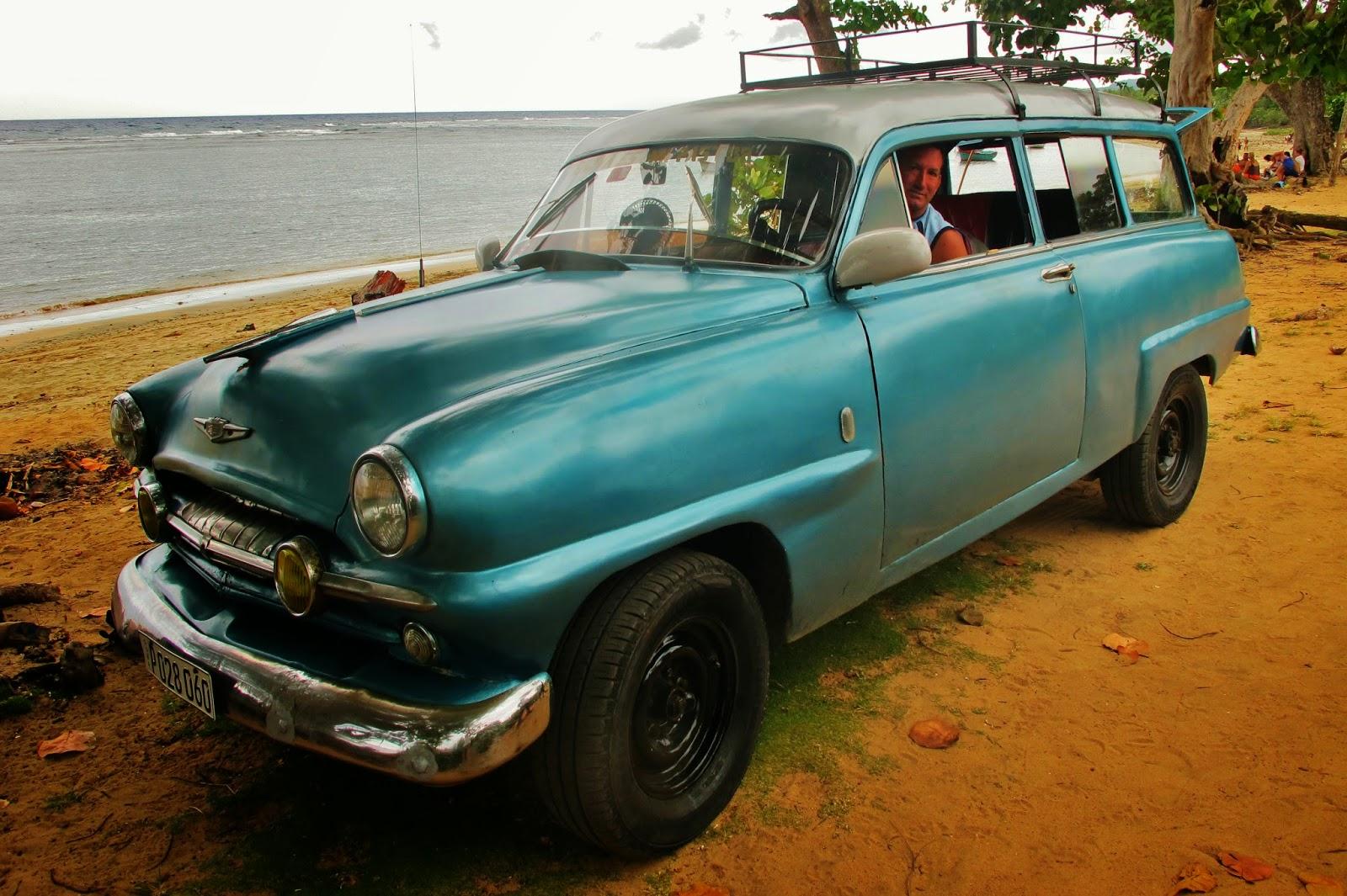 Otávio, nativo de Baracoa, em Cuba.