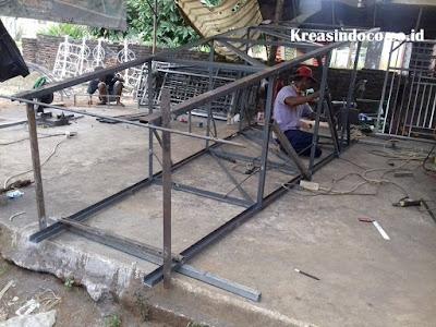 Jasa Pembuatan Menara Air Besi di Kalianda Lampung Selatan