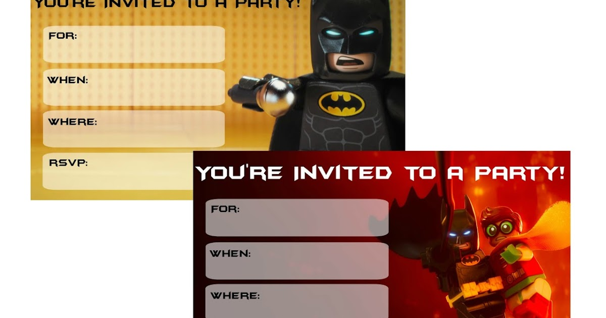 photograph regarding Printable Lego Invitations named Musings of an Typical Mother: Lego Batman Video Get together Invites