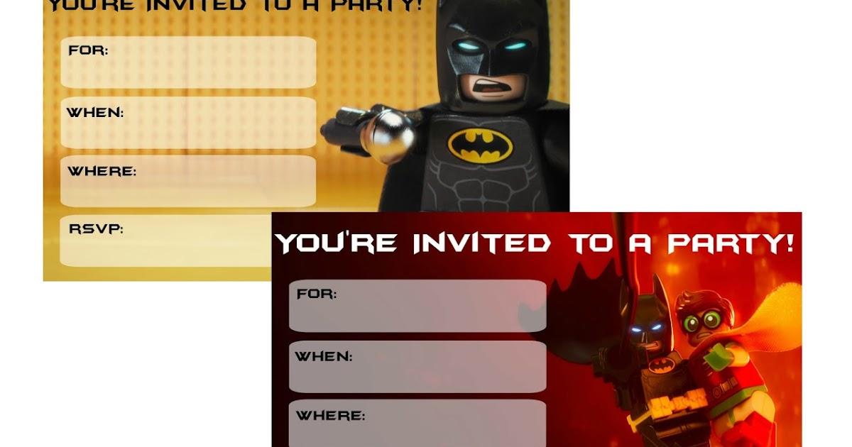 Lego Invites Free as luxury invitation template