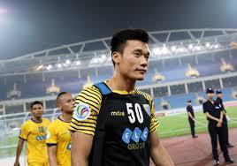 Thủ môn Bùi Tiến Dũng được lựa chọn để trao giải Man of Match - Win2888vn
