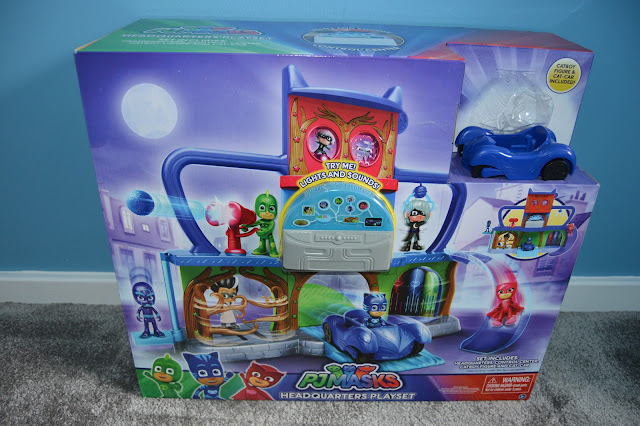 PJ Masks Headquarters Playset Box