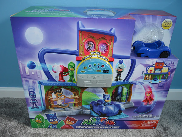 Review - PJ Masks Headquarters