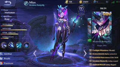 Miya Modena Butterfly