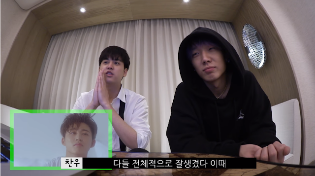 Chanwoo' Life Channel Update : Reviews iKON MV with BOBBY