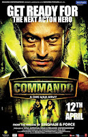 Commando 2013 Full Movie [Hindi-DD5.1] 720p DVDRip ESubs Download