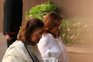 Actress Aishwarya Rai Father Prayer Meet Set 1  0025.JPG