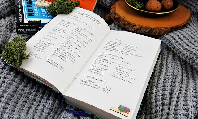 Personenverzeichnis aus Tanya Lieskes Sommernachtstraum