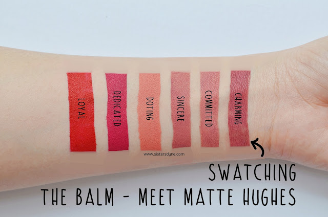 the balm meet matte hughes all shade