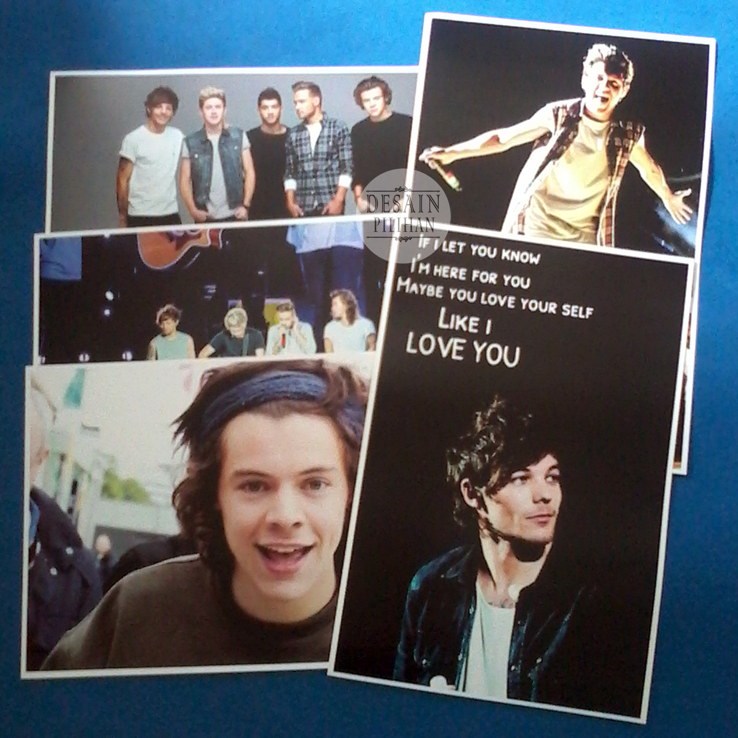 POSTER CUSTOM, POSTER ONE DIRECTION, POSTER HARRY STYLE
