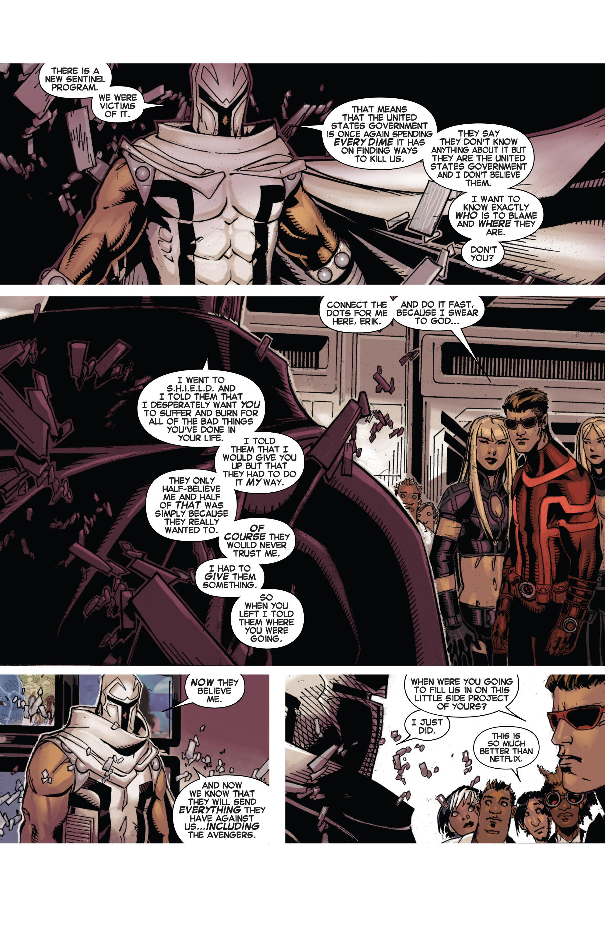 Read online Uncanny X-Men (2013) comic -  Issue # _TPB 1 - Revolution - 60