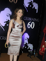 Tamanna at Chiru's 60 th B'day celebrations-cover-photo