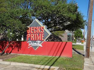 Becks Primer Drive Thru next to Jungman Library on Westheimer