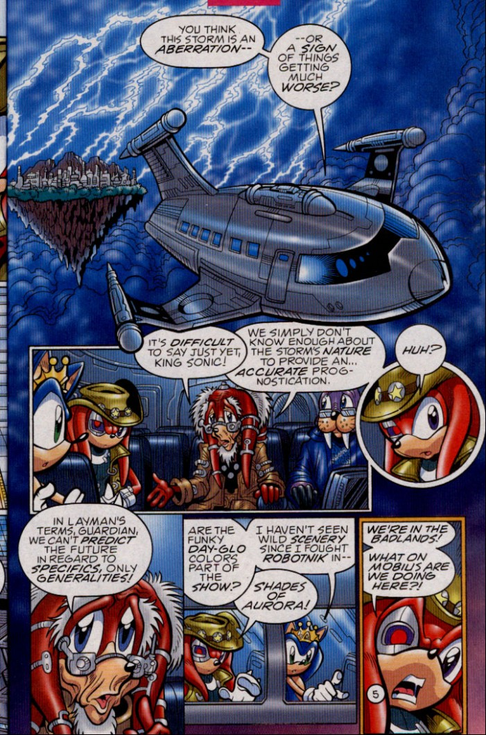 Read online Sonic The Hedgehog comic -  Issue #144 - 7