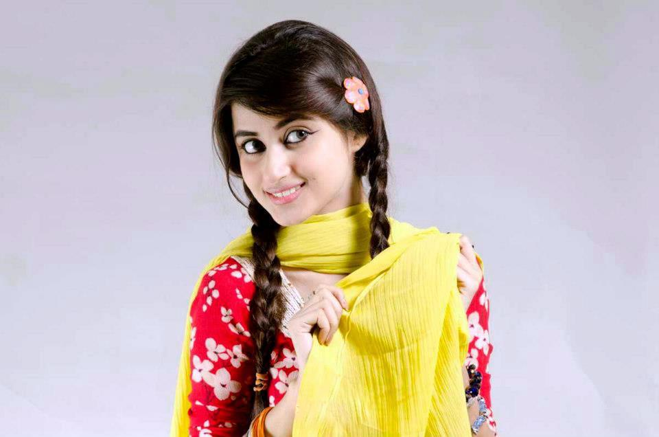 Sajal Ali like a village girl