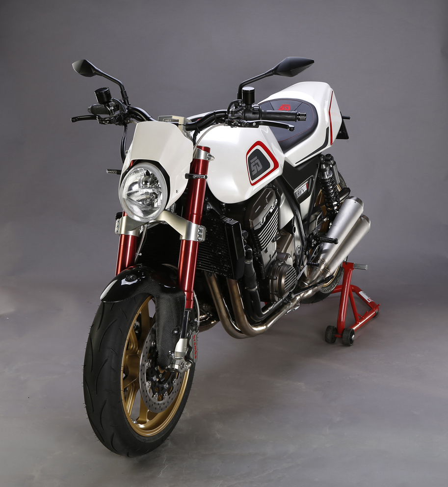 Kawasaki Zrx1200r By Skoda Design Rocketgarage Cafe Racer Magazine Z1000 Lighting System Circuit Thats Why The Choice Fell On That In Its Heyday Hands Of Eddie Lawson Dominated Racing Circuits