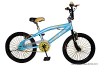 2 Sepeda BMX Pacific Black Magic Free Style 20 Inci