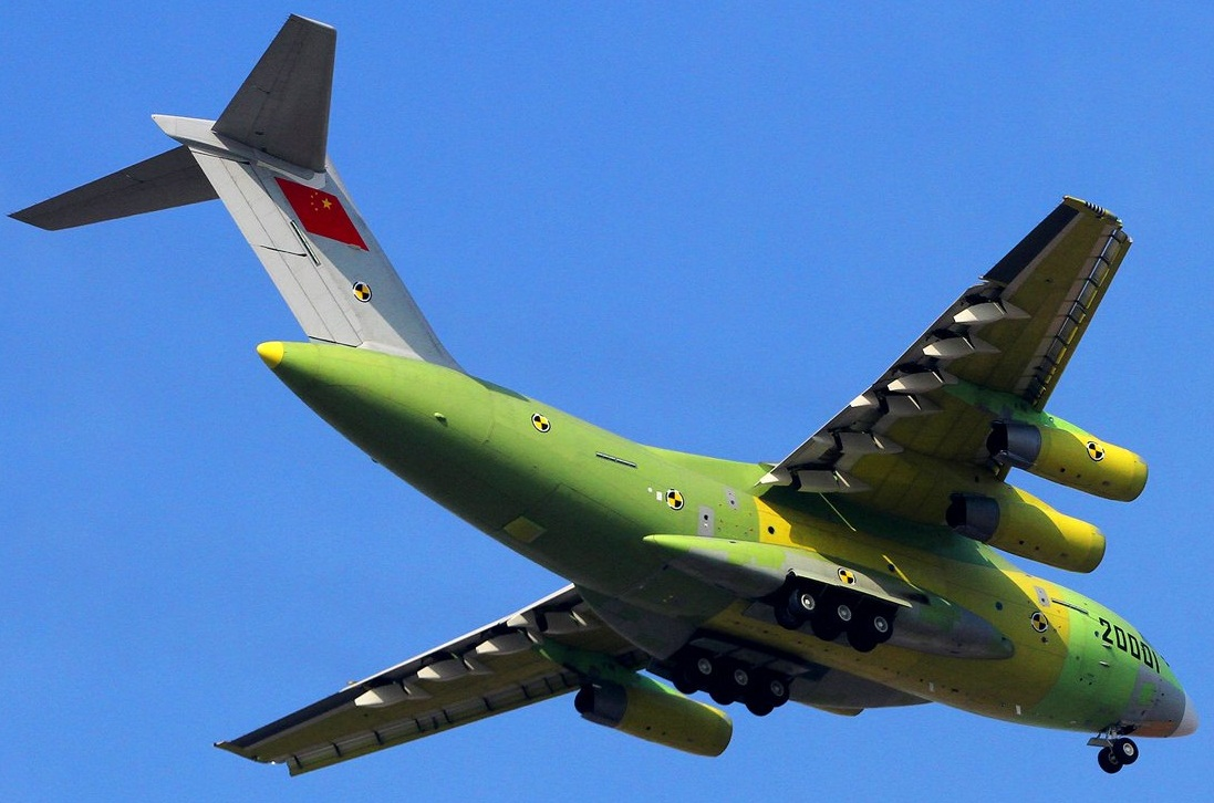 Know 26 Facts about china's Xian Y-20 military transport ...