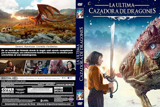 THE LAST DRAGONSLAYER – LA ULTIMA CAZADORA DE DRAGONES – 2016 [COVER – DVD]