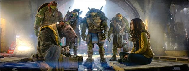 Escena de Ninja Turtles 2014