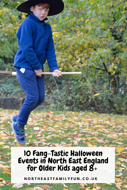 10 Fang-Tastic Halloween Events in North East England for Older Kids aged 8+